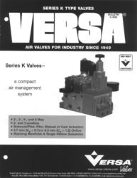 Versa K Series Aluminum Solenoid Valves