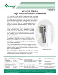 Versa-AFH-316-High-Pressure-Filter